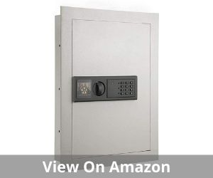 Electronic Wall Safe Hidden Large Safes Jewelry Secure